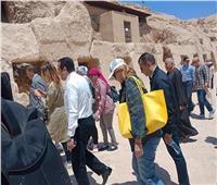 وزيرا السياحة و الآثار يرافقان السفراء الأجانب في جولة بالأقصر