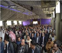 بالصور| حشد من المواطنين بالإسماعيلية يشاركون بمؤتمر دعم التعديلات الدستورية