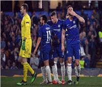 تشيلسي يفوز برباعية ويتأهل لنصف نهائي الدوري الأوروبي