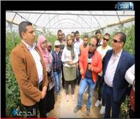 فيديو| مستثمر يكشف أسرار المزرعة النموذجية في الخطاطبة