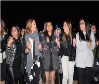 صور| داليا البحيري تشارك جمهور الشرنوبي الاحتفال بألبومه الجديد