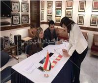 صور| توافد المصريين بالهند  للمشاركة في استفتاء التعديلات الدستورية