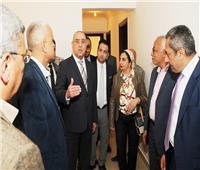 وزير الإسكان يتفقد مشروع «JANNA» بالشيخ زايد