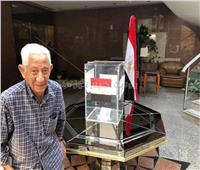 صور| كبار السن يحرصون على المشاركة في استفتاء تعديلات الدستور