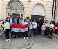المصريون في بريطانيا يتوافدون على مقرات الاستفتاء على الدستور