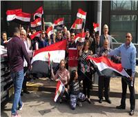 صور  المصريون يصطفون أمام القنصلية بنيويورك للإدلاء بأصواتهم