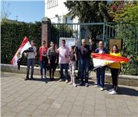 المصريون في هولندا يدلون بأصواتهم في استفتاء التعديلات الدستورية