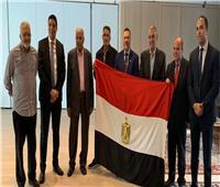 صور  إقبال كثيف من الجالية المصرية بسويسرا على التعديلات الدستورية