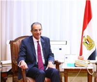 وزير الاتصالات يدلي بصوته في استفتاء التعديلات الدستورية بالشيخ زايد