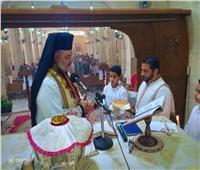 الأنبا توماس عدلي يحتفل بجمعة ختام الصوم في رعيّة أثناسيوس الرسوليّ- ٦ أكتوبر