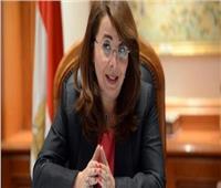 وزيرة التضامن تدلي بصوتها في الاستفتاء على التعديلات الدستورية بالعجوزة