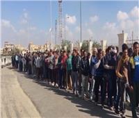 بدء توافد المواطنين على لجان التجمع الأول للتصويت على الاستفتاء