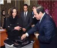 الرئيس السيسي يصل مدرسة مصر الجديدة للإدلاء بصوته في التعديلات الدستورية