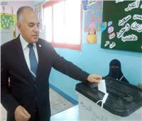 التعديلات الدستورية 2019|وزير الري يدلي بصوته الانتخابي في الاستفتاء