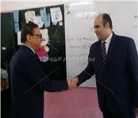 كرم جبر يدلي بصوته في الاستفتاء على التعديلات الدستورية