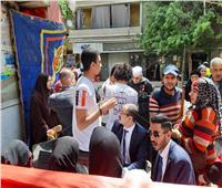 فيديو وصور| عشرات المواطنين يصوتون بلجنة مدرسة السلام في حدائق القبة