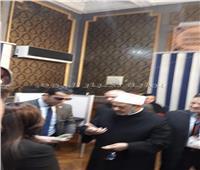 التعديلات الدستورية 2019| شيخ الأزهر يدلي بصوته في التعديلات الدستورية في لجنة السيسي بمصر الجديدة