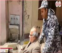 فيديو| كبار السن يتصدرون المشهد في لجان الاستفتاء على الدستور