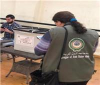 بعثة الجامعة العربية لمراقبة الاستفتاء تبدأ أعمالها فى متابعة التصويت