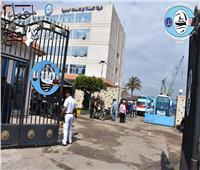 التعديلات الدستورية 2019| شركات بورسعيد التابعة لقناة السويس ترفع أعلام مصر