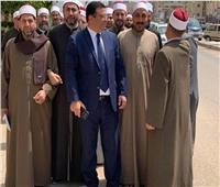 مسيرة لأئمة كفر الشيخ لحث المواطنين على المشاركة فى الاستفتاء