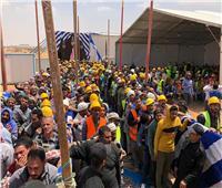 صور  إقبال كثيف على لجان استفتاء العاصمة الإدارية الجديدة
