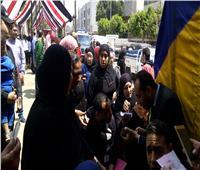 صور| أهالي الزاوية الحمراء يشاركون في الاستفتاء على التعديلات الدستورية
