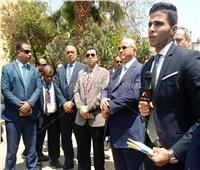 محافظ القاهرة ووزير التنمية المحلية يتفقدان العملية الانتخابية بشبرا