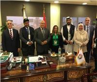 خلال متابعته للاستفتاء.. وفد البرلمان العربي يلتقي رئيس الهيئة الوطنية للانتخابات