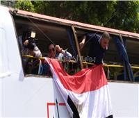 صور| حكيم يدعو للمشاركة في الاستفتاء على التعديلات الدستورية بـ«الطفطف»