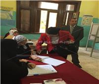 صور| وزيرة البيئة تدلي بصوتها في الاستفتاء على التعديلات الدستورية