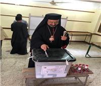 بطريرك الأقباط الكاثوليك يدلي بصوته في استفتاء التعديلات الدستورية