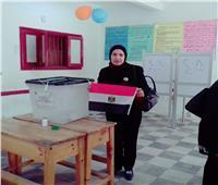 «زوجات الشهداء» يتصدرن لجان استفتاء التعديلات الدستورية في الشرقية