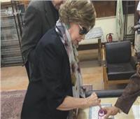 فيديو| جيهان السادات: المشاركة بالاستفتاء «واجب وطني».. والمقاطعة «خيانة»