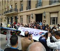 ملحمة وطنية يسجلها عمال غزل المحلة للاستفتاء على التعديلات الدستورية