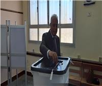 التعديلات الدستورية 2019  محافظ جنوب سيناء يدلي بصوته