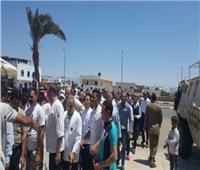 إقبال كبير بلجان استفتاء التعديلات الدستورية في شرم الشيخ ودهب