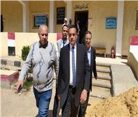 محافظ البحيرة يتفقد لجان الاستفتاء على التعديلات الدستورية بمركز شبراخيت