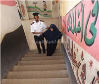 الشرطة فى خدمة الناخبين بلجان الاستفتاء على تعديلات الدستور