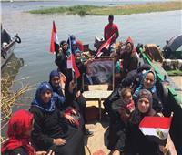 التعديلات الدستورية 2019| سيدات «القوصية» يعبرن النيل للمشاركة بالاستفتاء