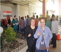 التعديلات الدستورية 2019| لجنة استفتاء للمغتربين في معهد ناصر