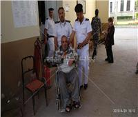 مشاركة «ذوي الاحتياجات الخاصة»  في التعديلات الدستورية بالدقي