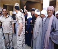 90 متابع من حقوق الإنسان لعملية التصويت على الاستفتاء بسوهاج