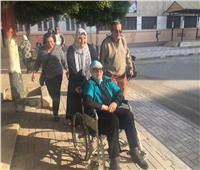صور.. سيدات مصر يتصدرن المشهد في اليوم الأول للاستفتاء
