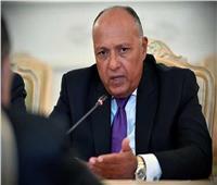 شكري: توافق عربي على ضرورة التوصل لحل نهائى للقضية الفلسطينية