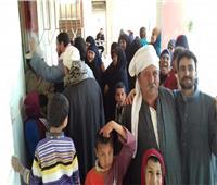 التعديلات الدستورية 2019| مزارعو كفر الشيخ يتوافدون على اللجان بعد العودة من الحقول