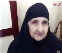 فيديو| معمرة من أمام لجنة الاستفتاء: «نفسي أشوفك ياريس»