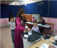 قبل غلق لجان بعين شمس توافد المواطنين