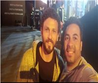 حسام غالي وجدو في بطولة الجونة الدولية للإسكواش