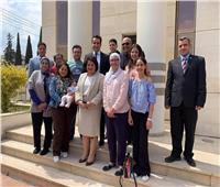 صور| الجالية المصرية في قبرص تشارك في التعديلات الدستورية